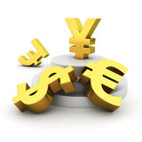 Yen advantage Royalty Free Stock Photo