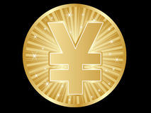 Yen coins Stock Images