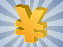 Yen currency Stock Photography