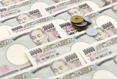Yen giapponesi Immagine Stock
