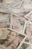 10000 Yen giapponesi, le fatture di valuta fondi del Giappone Fotografia Stock