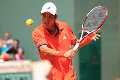 Yen-Hsun Lu - French open 2012 Stock Photos