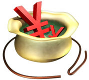 Yen. This is a Yen image Stock Photography