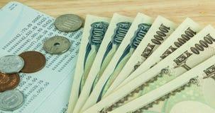 Yen Money Royalty-vrije Stock Foto's
