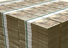 Yen Notes Pile Lizenzfreie Stockfotografie
