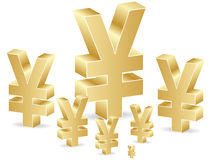 Yen poster Royalty Free Stock Photos