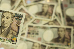 10000-Yen-Rechnung Lizenzfreie Stockbilder