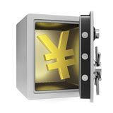 Yen Safe Royalty Free Stock Image