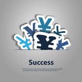 Yen Signs Designs Royaltyfria Bilder