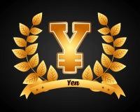Yen Symbol Imagenes de archivo