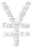 Yen Symbol Foto de archivo libre de regalías
