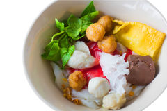 Yen ta fo, thai cuisine royalty free stock image