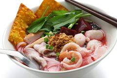 Yen ta fo, thai cuisine Royalty Free Stock Photography