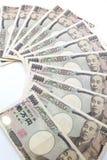Yenes japoneses Fotos de archivo