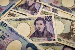 Yenes japoneses Imagen de archivo