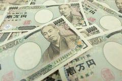 Yenes japoneses Fotografía de archivo
