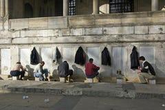yeni мечети istanbul camii новое стоковая фотография rf