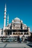 Yeni Cami清真寺在伊斯坦布尔 库存照片