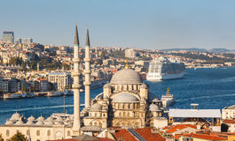 Yeni Cami (新的清真寺) 免版税库存图片