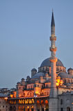 Yeni Cami. Valide Sultan Mosque most famous as Yeni Cami (built 1597-1663 by Ottoman's stock image