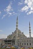 Yeni cami - istanbul Royaltyfri Fotografi