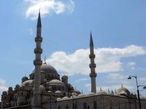 Yeni Cami Mosque dans le secteur de Sultan Ahmed d'Istanbul Image stock