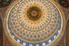 Yeni Cami Mosque i(New Mosque) n Istanbul. Royalty Free Stock Photo