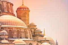 Yeni Cami Mosque in Istanboel, Turkije royalty-vrije stock foto
