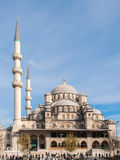 The Yeni Cami mosque in Istanbul Stock Image