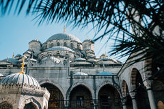 The Yeni Cami mosque in Istanbul Royalty Free Stock Images