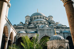 The Yeni Cami mosque in Istanbul Royalty Free Stock Photography