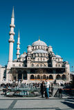 The Yeni Cami mosque in Istanbul stock photos