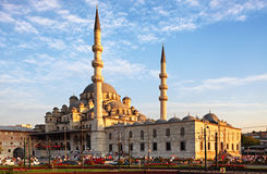 Yeni Cami mosque in Istanbul, Turkey Royalty Free Stock Photo