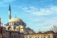 Yeni Cami Mosque The New Mosque in Istanbul Royalty Free Stock Photo