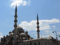 The Yeni Cami Mosque in the Sultan Ahmed district of Istanbul Stock Image