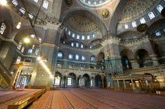 Yeni Cami (neue Moschee) in Istanbul, die Türkei lizenzfreie stockfotos