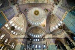 Yeni Cami (neue Moschee) in Istanbul, die Türkei lizenzfreies stockbild