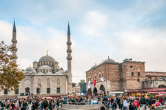 Yeni Cami, The New Mosque Stock Image
