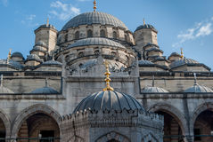 Yeni Cami (New Mosque) in Eminonu, Istanbul, Turkey Stock Images