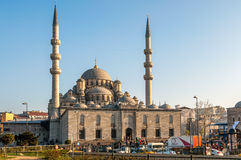 Yeni Cami, The New Mosque Stock Photo