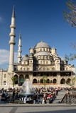 Yeni Cami, New Mosque, in Istanbul. Stock Images