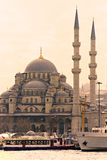 Yeni Cami (New Mosque), Istanbul, Turkey. Royalty Free Stock Photo