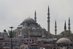 Yeni Cami, New Mosque, Istanbul, Turkey Royalty Free Stock Photos