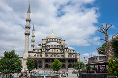 The Yeni Cami ( New Mosque) in Istanbul, Turkey Royalty Free Stock Photos