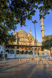 Yeni Cami ( New Mosque ) in the morning, Istanbul, Turkey. Stock Image