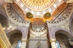 Yeni Cami (nuova moschea) Costantinopoli Fotografie Stock Libere da Diritti