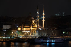 The Yeni Camii - The New Mosque , Istanbul, Turkey Stock Photo
