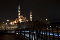 The Yeni Camii - The New Mosque , Istanbul, Turkey Royalty Free Stock Photography
