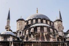 Yeni Camii (Nieuwe Moskee) in Eminonu Istanboel, Turkije royalty-vrije stock foto's
