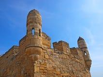 Yeni-Chou frisé, forteresse turque médiévale dans Kerch Photographie stock libre de droits